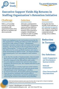 Staffing Organization Case Study