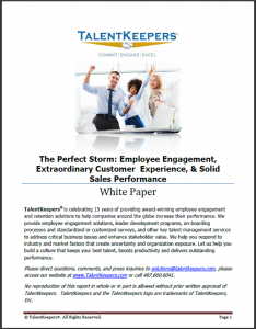 The Perfect Storm_Engagement_Customer Experience_Sales Performance 2015