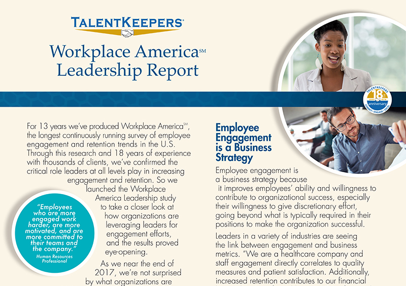 Announcing the Publication of the Workplace America Leadership Report